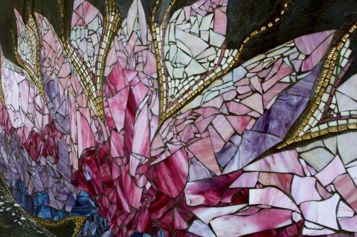 crystal castle lotus mosaic