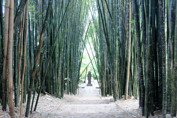 crystal castle bamboo Buddha Walk