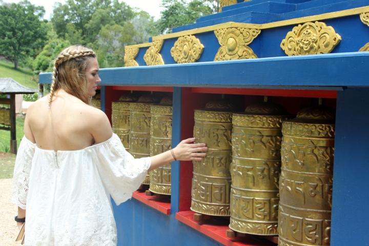 crystal castle peace stupa