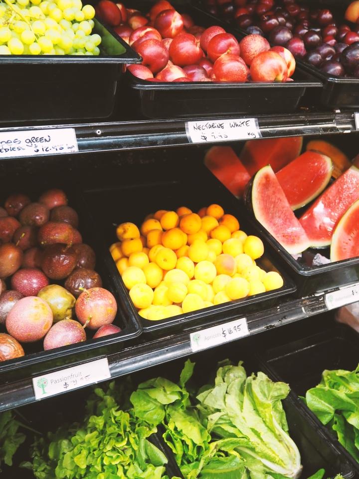 fruit vegetables santos byron bay vegan